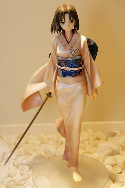 美しき着物姿と日本刀 グッスマ空の境界 両儀式 伽藍の洞