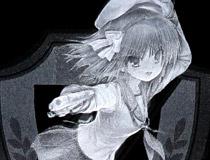 Angel Beats! ゆり プレミアムクリスタル(Na-Ga氏複製サイン入り)