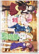 一番くじプレミアム 劇場版 魔法少女まどか☆マギカ~スペシャルリミテッド~ J賞 クリアファイル&ステッカー 15