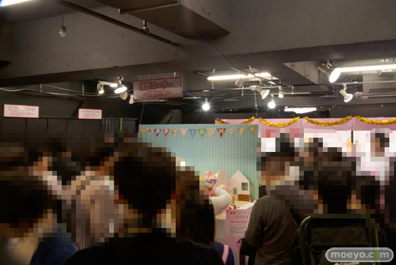キューポッシュ1さい☆生誕祭 会場の様子