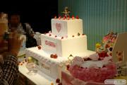 キューポッシュ1さい☆生誕祭 ケーキの巨大ベース