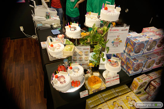 キューポッシュ1さい☆生誕祭 レジ前ケーキ