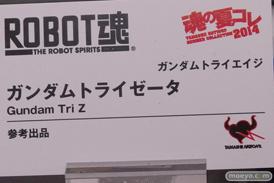 バンダイ 魂の夏コレ2014 ガンダム 魂ネイション ROBOT魂 ガンダムトライゼータ POP