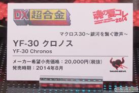 バンダイ 魂の夏コレ2014 メカ 魂ネイション DX超合金 YF-30 クロノス POP