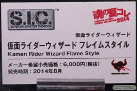 バンダイ 魂の夏コレ2014 キャラクター 魂ネイション S.I.C 仮面ライダーウィザード フレイムスタイル POP