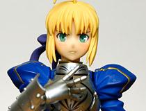 頬を染めた「照れ顔」も付属した騎士王がfigmaで再登場!「figma Fate/stay night セイバー 2.0」 本日予約開始!
