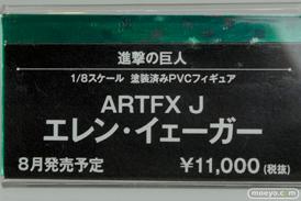 メガホビEXPO2014 Spring コトブキヤ 進撃の巨人 ARTFX J エレン・イェーガー POP