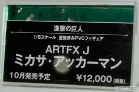 メガホビEXPO2014 Spring コトブキヤ 進撃の巨人 ARTFX J ミカサ・アッカーマン POP