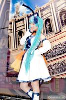 メガホビEXPO2014 Spring コスプレ シギィ 聖なるポーズ トモエ メガちゃん ハウスさん 36