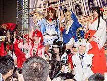 【メガホビEXPO2014 Spring】クイブレや百花繚乱、七つの大罪など!コスプレイヤーさん特集!