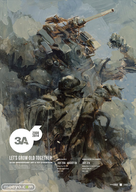 ThreeA LET'S GROW OLD TOGETHER! 01