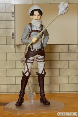 マックスファクトリー figma 進撃の巨人 リヴァイ お掃除ver. フィギュア 画像 13