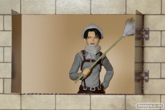 マックスファクトリー figma 進撃の巨人 リヴァイ お掃除ver. フィギュア 画像 17