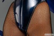アミエ・グラン 一騎当千 集鍔闘士血風録 関羽雲長 バニーver.ベアトップ フィギュア 画像 22