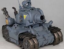 あの一人乗り高機動戦車「SV-001メタルスラッグ」がダイキ工業から立体化!