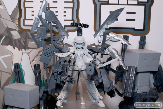 2014 第54回 全日本模型ホビーショー 画像 サンプル レビュー フィギュア コトブキヤ フレームアームズ・ガール 轟雷 プラモデル 03