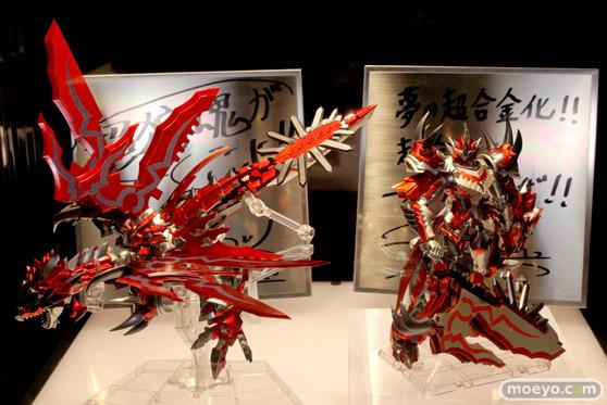 2014 第54回 全日本模型ホビーショー 画像 サンプル レビュー フィギュア バンダイ 超合金 モンスターハンター G級変形リオレウス 01