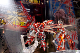 2014 第54回 全日本模型ホビーショー 画像 サンプル レビュー フィギュア バンダイ 超合金 モンスターハンター G級変形リオレウス 04