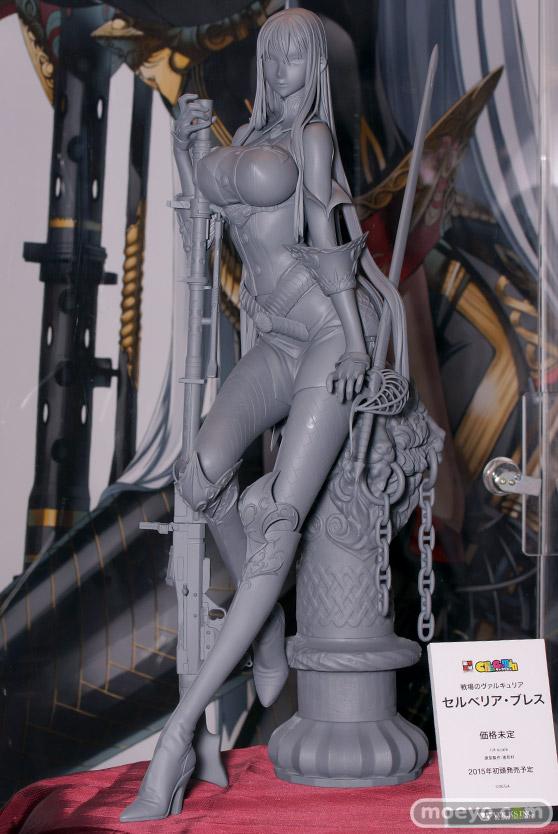 HOBBY ROUND(ホビーラウンド) 12 ボークス 画像 サンプル レビュー フィギュア 絶対領域 キャラグミン 1/4スケール 戦場のヴァルキュリア セルベリア・ブレス 01