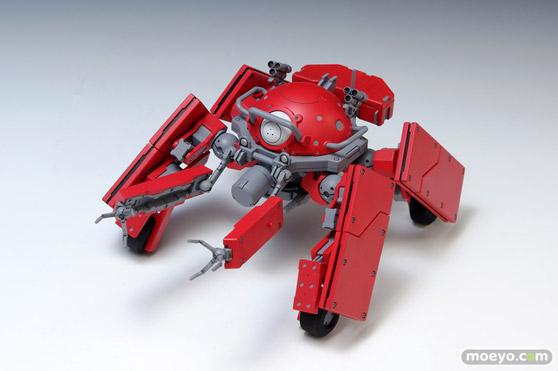 攻殻機動隊ARISE GHOST IN THE SHELL ロジコマ 1/24 プラモデル ウェーブ 画像 レビュー サンプル 赤い 01