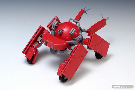 攻殻機動隊ARISE GHOST IN THE SHELL ロジコマ 1/24 プラモデル ウェーブ 画像 レビュー サンプル 赤い 02