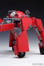 攻殻機動隊ARISE GHOST IN THE SHELL ロジコマ 1/24 プラモデル ウェーブ 画像 レビュー サンプル 赤い 04