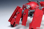 攻殻機動隊ARISE GHOST IN THE SHELL ロジコマ 1/24 プラモデル ウェーブ 画像 レビュー サンプル 赤い 06