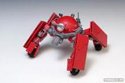 攻殻機動隊ARISE GHOST IN THE SHELL ロジコマ 1/24 プラモデル ウェーブ 画像 レビュー サンプル 赤い 07