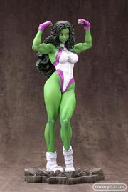 MARVEL美少女 MARVEL UNIVERSE シーハルク コトブキヤ フィギュア サンプル レビュー 画像 09