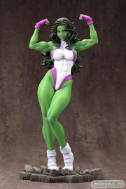 MARVEL美少女 MARVEL UNIVERSE シーハルク コトブキヤ フィギュア サンプル レビュー 画像 10