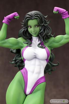 MARVEL美少女 MARVEL UNIVERSE シーハルク コトブキヤ フィギュア サンプル レビュー 画像 11