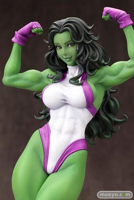 MARVEL美少女 MARVEL UNIVERSE シーハルク コトブキヤ フィギュア サンプル レビュー 画像 12