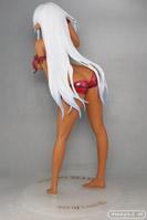 クイーンズブレイチE美しき闘士たち アレイン EXカラーVer. オーキッドシード 画像 製品版 レビュー フィギュア 褐色 全裸 葉っぱ水着 キャストオフ エロ アダルト 06
