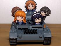 ねんどろいどぷちのあんこうチームが搭載可能!GSC「ねんどろいどもあ ガールズ&パンツァー IV号戦車D型」 新作フィギュア彩色サンプル画像レビュー