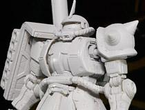 【ガンプラEXPO2014】機動戦士ガンダム THE ORIGINから「シャア専用ザクII」「ガンタンク初期型」がプラモデル化!