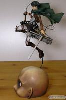 進撃の巨人 リヴァイ グッドスマイルカンパニー 画像 フィギュア サンプル レビュー 03