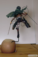 進撃の巨人 リヴァイ グッドスマイルカンパニー 画像 フィギュア サンプル レビュー 05