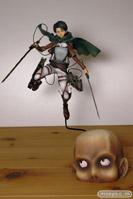 進撃の巨人 リヴァイ グッドスマイルカンパニー 画像 フィギュア サンプル レビュー 09