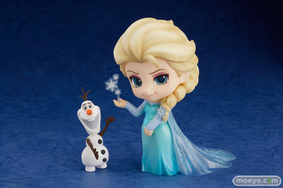 ねんどろいど アナと雪の女王 エルサ 画像 サンプル レビュー フィギュア 01
