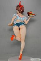 夏美(なつみ) ウェイトレスver. 通常版 回天堂 画像 サンプル レビュー フィギュア 肉感 07