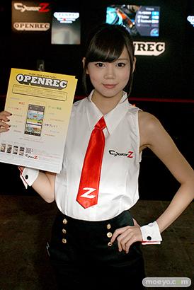 東京ゲームショウ2014 コスプレ イベント コンパニオン 画像 写真 レポート CyberZ