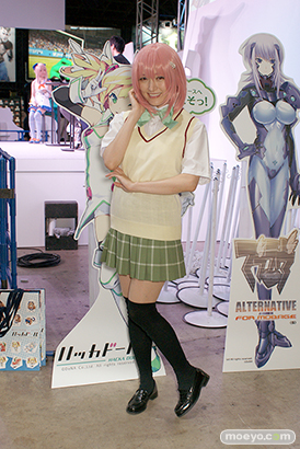 東京ゲームショウ2014 コスプレ イベント コンパニオン 画像 写真 レポート DeNA