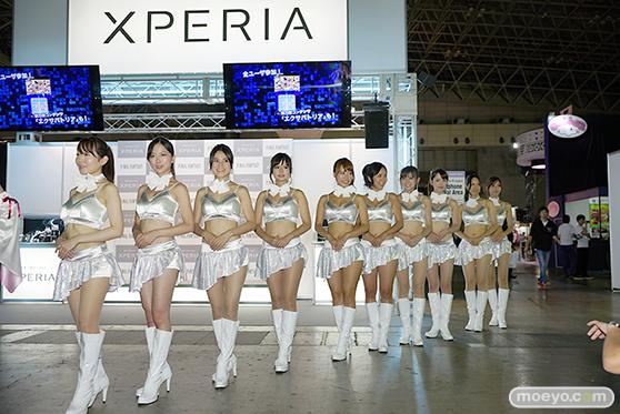 東京ゲームショウ2014 コスプレ イベント コンパニオン 画像 写真 レポート Xperia