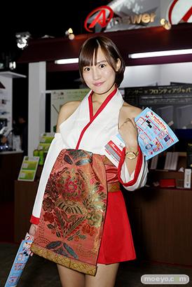 東京ゲームショウ2014 コスプレ イベント コンパニオン 画像 写真 レポート アンサー