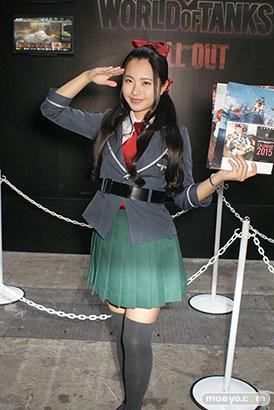 東京ゲームショウ2014 コスプレ イベント コンパニオン 画像 写真 レポート ウォーゲーミングジャパン
