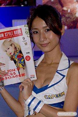 東京ゲームショウ2014 コスプレ イベント コンパニオン 画像 写真 レポート カプコン