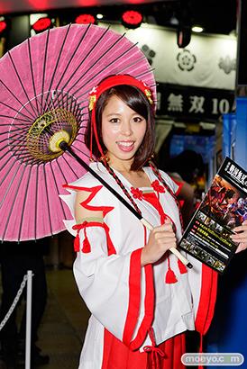 東京ゲームショウ2014 コスプレ イベント コンパニオン 画像 写真 レポート コーエーテクモゲームス