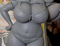 回天堂「すーぱーぽちゃ子 ランジェリーフットボールver.」 新作フィギュア製作途中原型画像レビュー