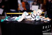 デザインココ アンジェラ 等身大 立像 楽園追放 男性 画像 フィギュア サンプル レビュー ワンダーフェスティバル 2015[冬] 02