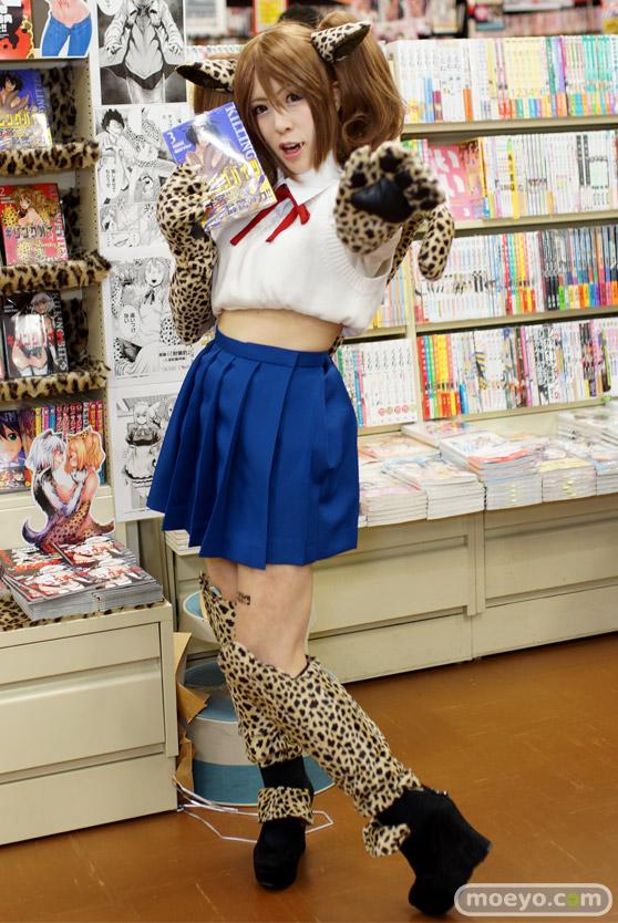 キリングバイツ 3巻 発売記念イベント ユリコタイガー 神崎りのあ 獣人少女 ヒトミ エルザ 画像 コスプレ K-BOOKS アニメイト 05